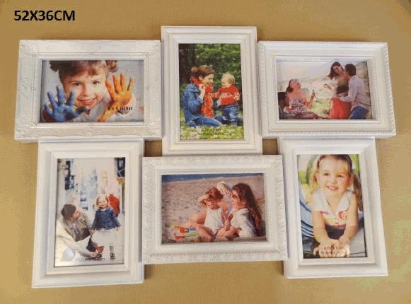 Fotorámeček na šest fotografií