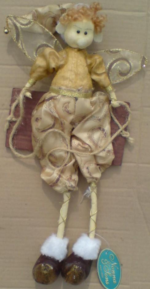 Elf na houpačce Závěsná dekorace